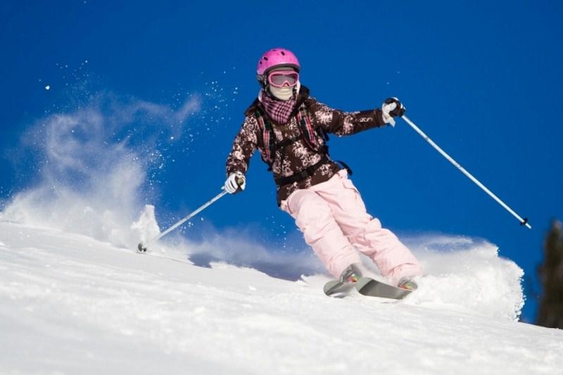 Как я катался на лыжах