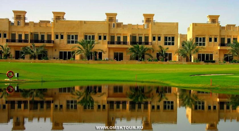 Отель Al Hamra Beach & Golf Resort 4*