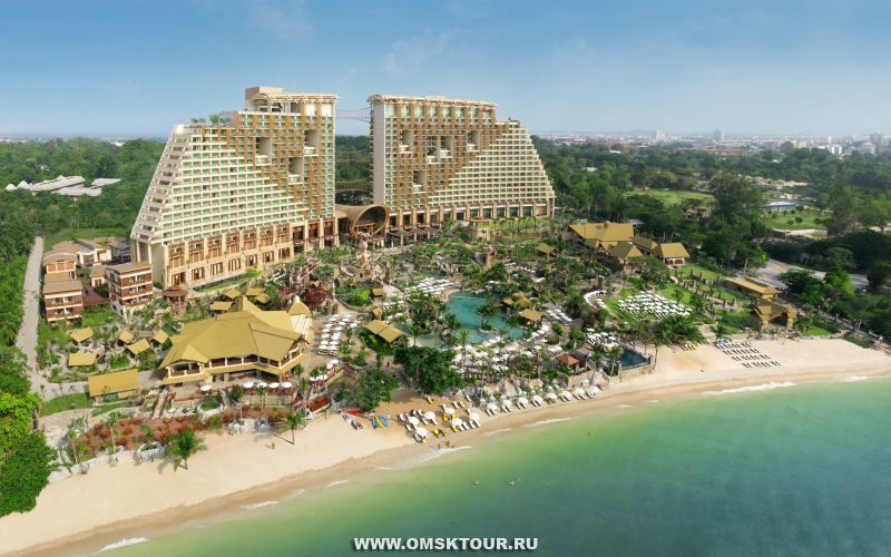 Фотографии отеля Centara Grand Mirage Beach Resort 5*, Паттайя, Тайланд