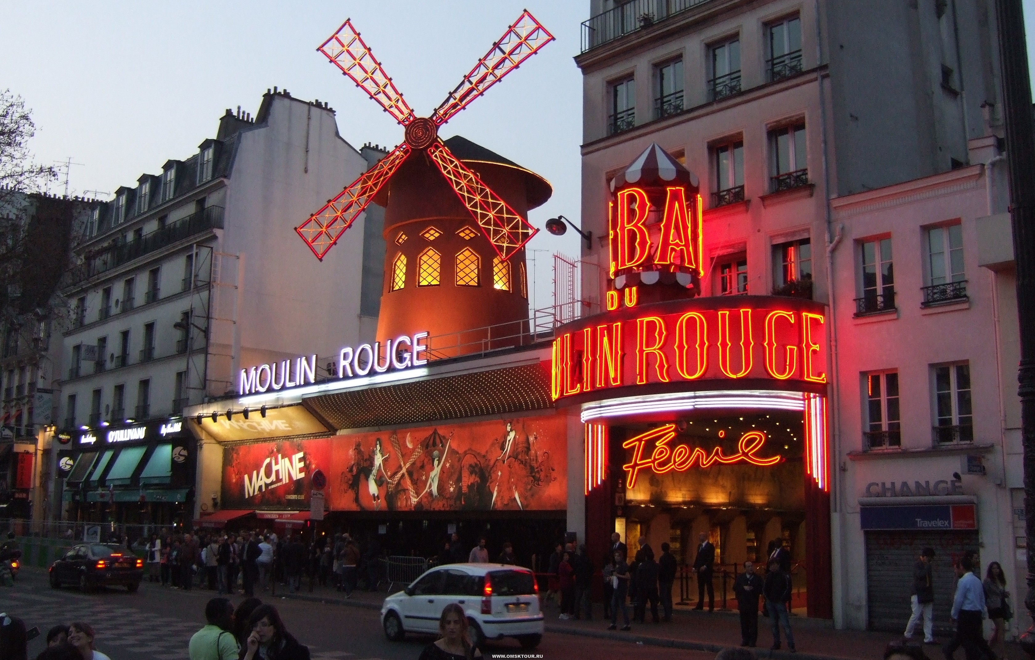 Экскурсионные туры в Париж из Омска