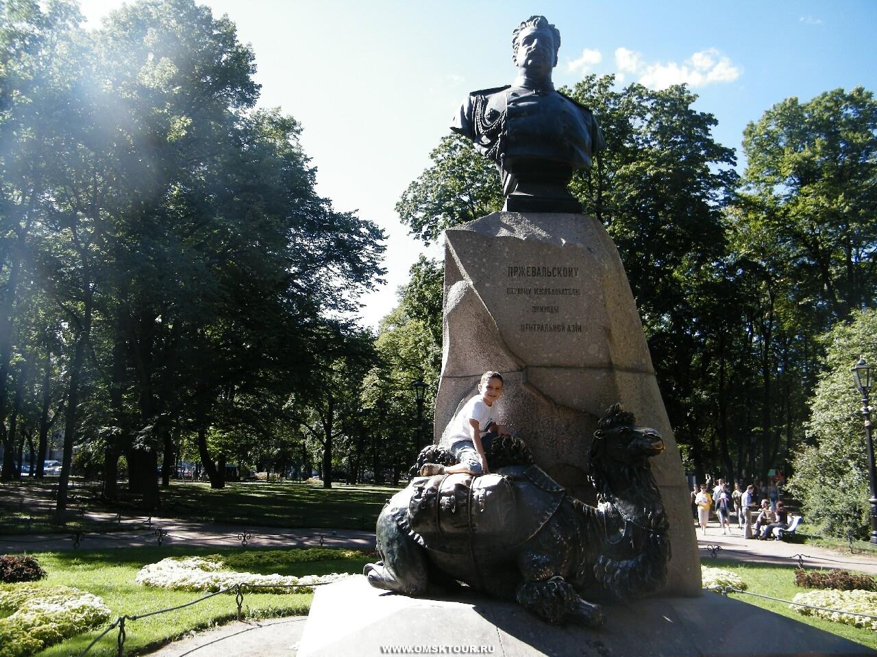 картинки памятник пржевальскому штат