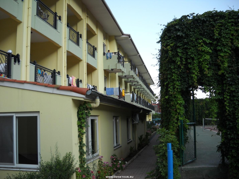 Отзыв об отдыхе в отеле Intersport в Турции